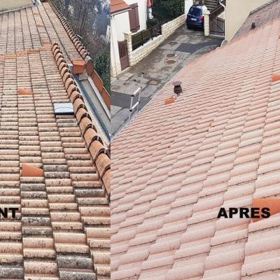 avant après toiture