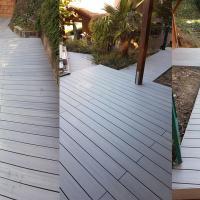 Terrasse composite couleur sable