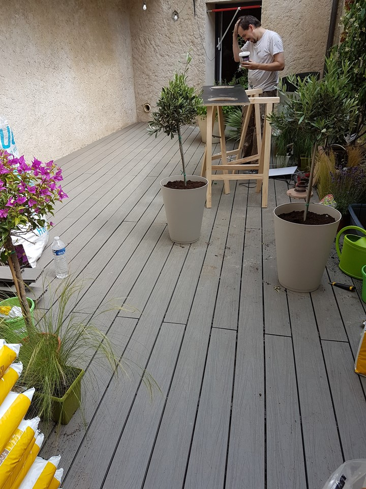 Terrasse pour M6 D&CO